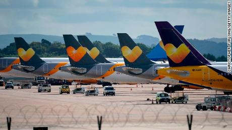 What will happen to Thomas Cook's airplanes?