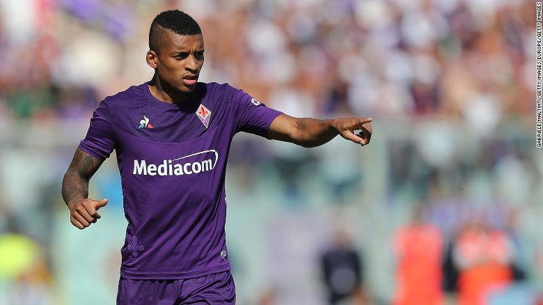 Fiorentina midfielder Henrique Dalbert was subjected to racist abuse Sunday.