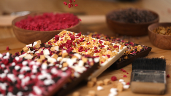 Each bar is hand-crafted.