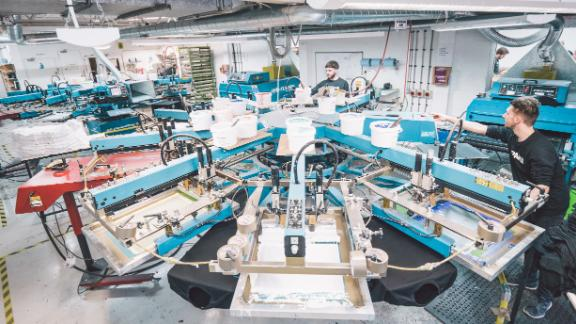 Sustainable t-shirt manufacturer Teemill uses AI and robotics in its factory to reduce waste