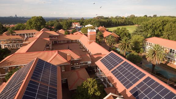 Sun Exchange powers solar projects at schools such as Sacred Heart College in Johannesburg