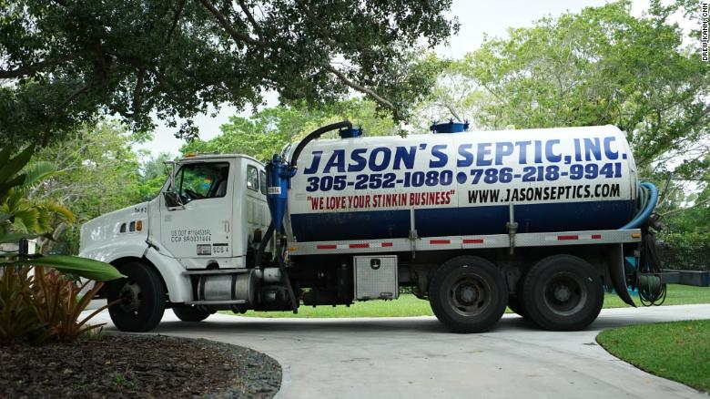 Septic repair tanker trucks could be more common in coastal cities, due to the climate crisis.