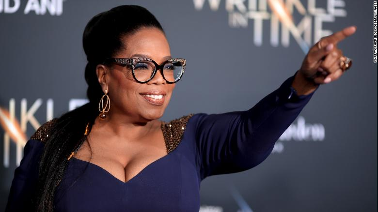 Oprah Winfrey has denied social media rumors that her home was raided and she was arrested.