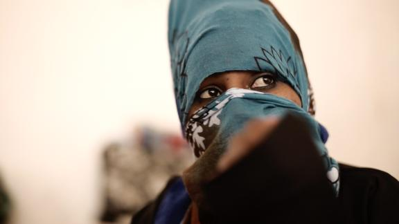 Danayt, an 18-year-old migrant from Eritrea, said traffickers beat her group with belts, and repeatedly raped them.