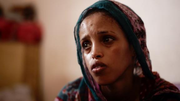 Laki traveled from Somalia to war-torn Yemen and then through Sudan before finally arriving in Libya.