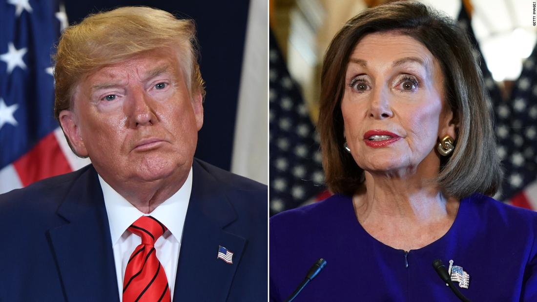 Trump and Pelosi haven't spoken in months   - CNNPolitics