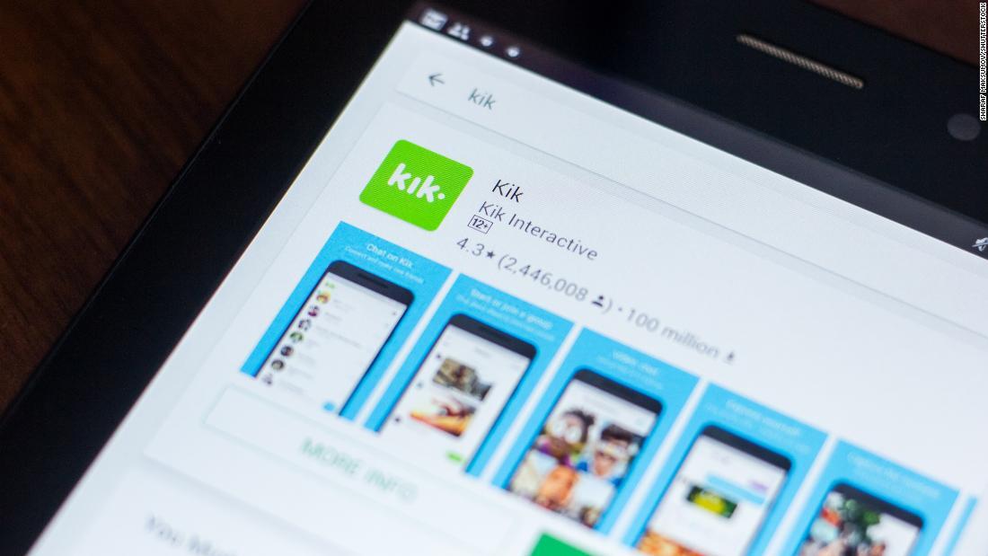 Kik heruntergefahren, sobald populären messaging-app