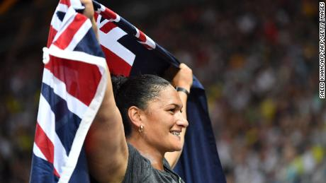 New Zealand's shot put star Valerie Adams is one of the country's most successful athletes.