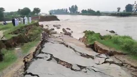 Hundreds were injured at the earthquake hit New Mirpur, in Pakistani-controlled Kashmir.