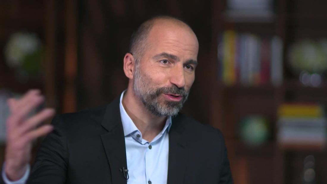 Uber CEO says business is 'absolutely sustainable' after losing $5 billion in three months