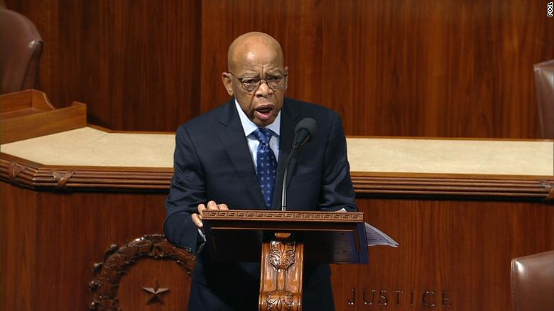 Image result for John Lewis impeachment speech
