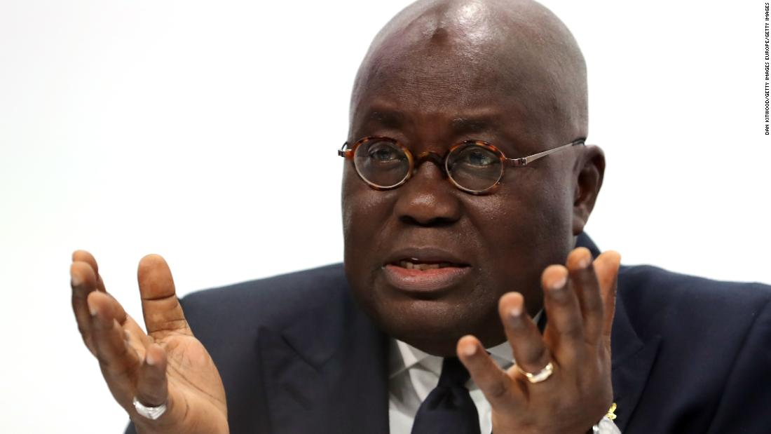 Ghana president warns of health system overload