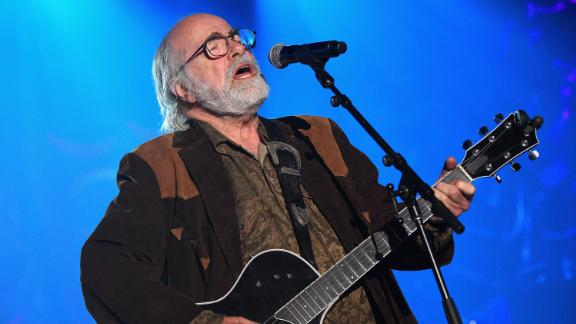 Robert Hunter performs onstage at the Songwriters Hall Of Fame 46th Annual Induction and Awards in 2015 in New York.