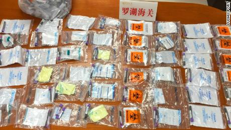 Customs officials in Shenzhen discovered 142 blood samples in a backpack carried by a 12-year-old girl. Each one was attached to an application form for sex testing, according to local media reports.