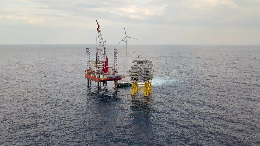 The world's largest offshore wind farm is nearly complete. It can power 1 million homes
