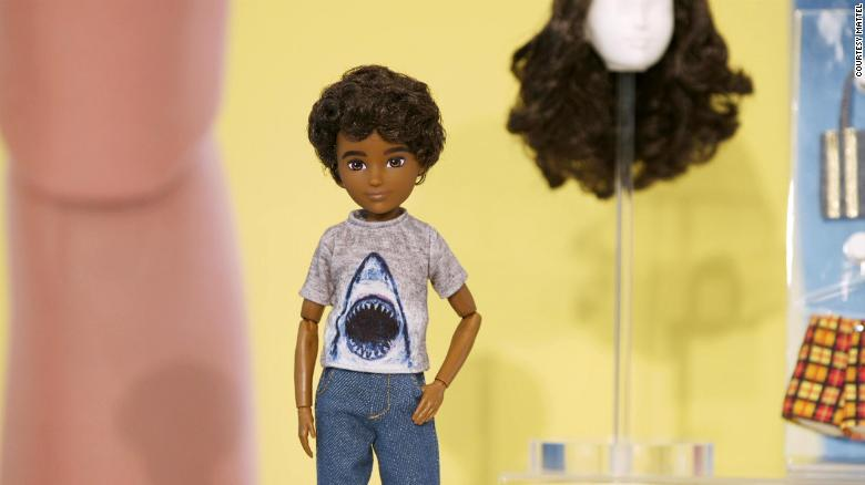 Mattel launched a line of gender-inclusive dolls Wednesday.