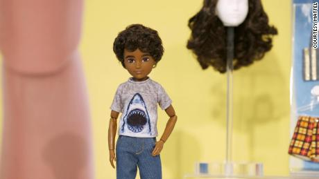 Mattel just launched a gender-inclusive doll line