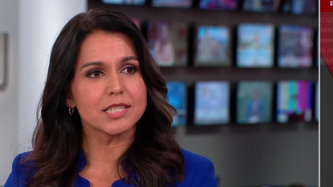 Rep. Tulsi Gabbard says she now supports an impeachment inquiry into Trump