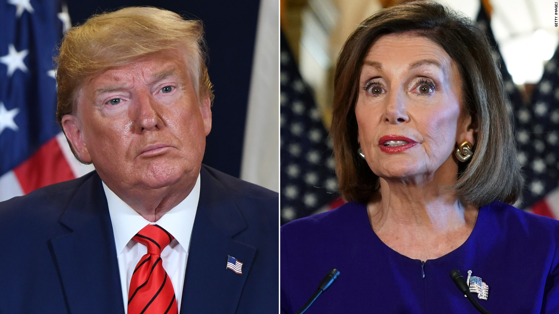 Trump incredulous after moves on transparency didn't stop Pelosi