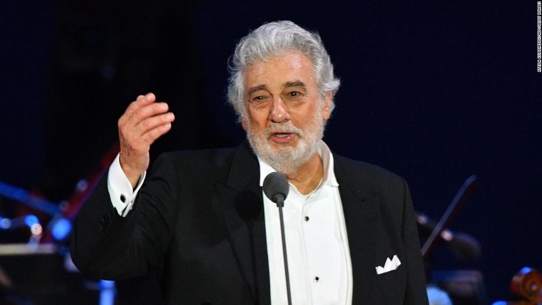 Plácido Domingo resigns from LA Opera post amid sexual misconduct claims