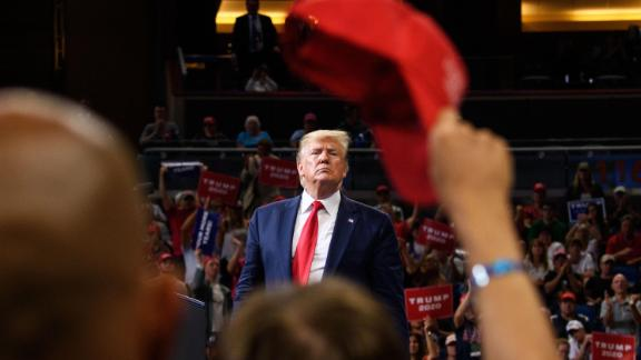 Trump officially launched his re-election campaign with a rally in Orlando in June 2019.