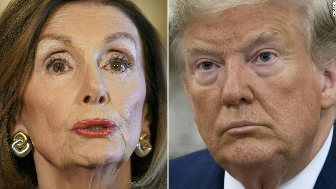 Trump explodes at Pelosi as more key impeachment testimony looms