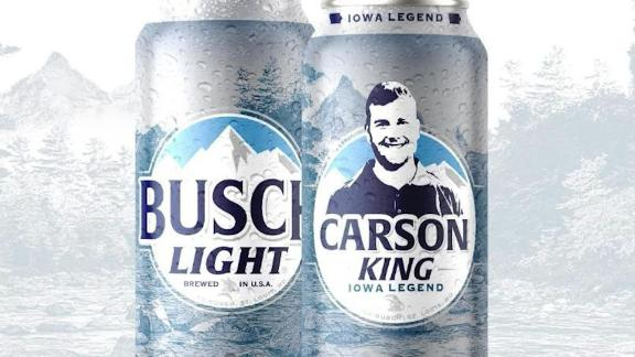 Anheuser-Busch Carson King Can