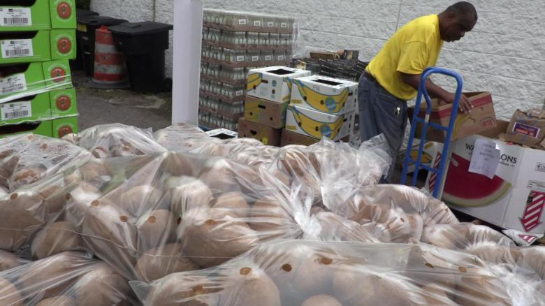 Forgotten Harvest delivers donated food to churches, community centers, food banks and charities.