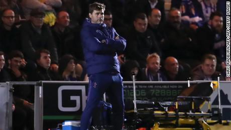 Mauricio Pochettino will have to find a way to halt Tottenham's slide.