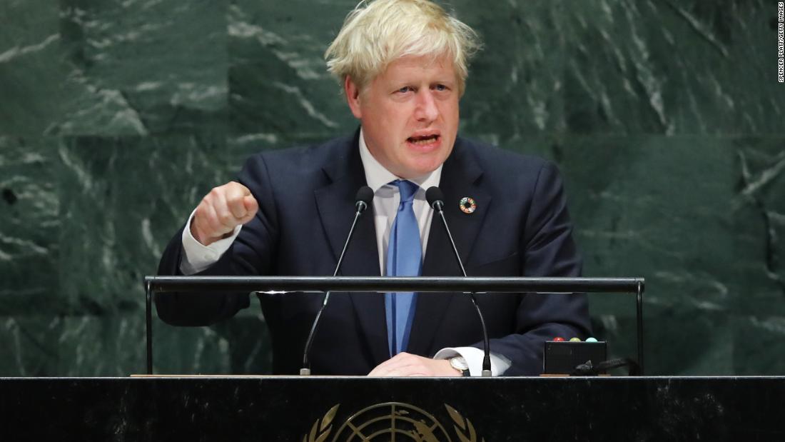 Borisジョンソンを返します英国の顔議会