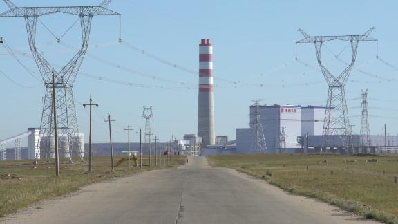 Datang Xilinhot Power Plant, which was due to open in July, in the Chinese province of Inner Mongolia in September 2019
