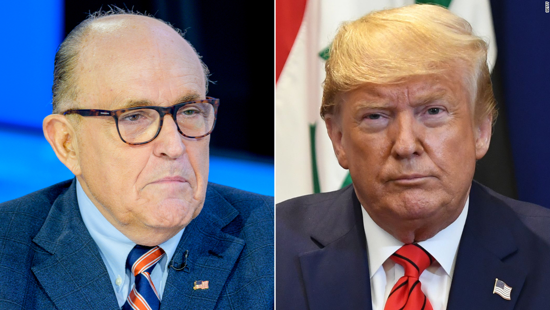 Trump and Giuliani remain in touch as impeachment drama heats up