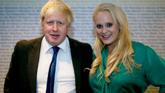 Boris Johnson and Jennifer Arcuri at a conference in London in 2014.