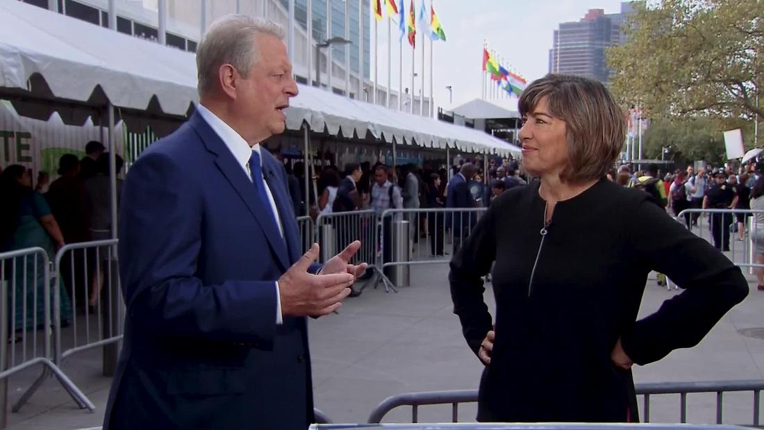 Gore: Trump's climate denial 'fuels' protesters
