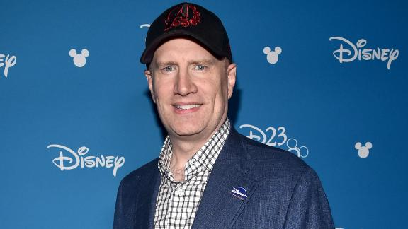 President of Marvel Studios Kevin Feige took part today in the Disney+ Showcase at Disney's D23 EXPO August 23, 2019 in Anaheim, Calif.