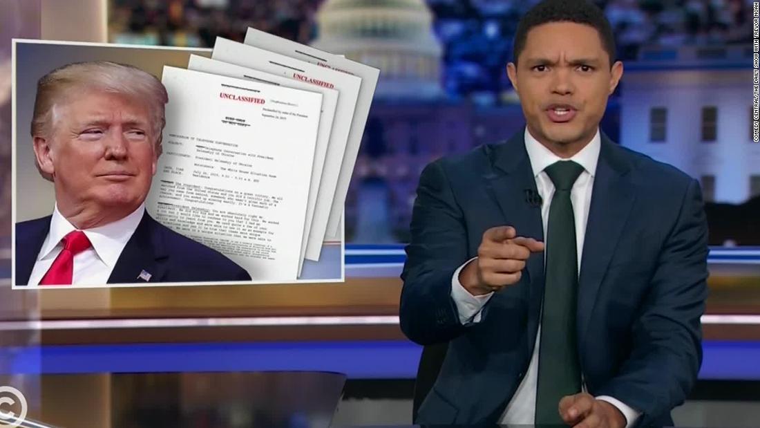 Late-night-hosts übernehmen Trump Anklage Anfrage