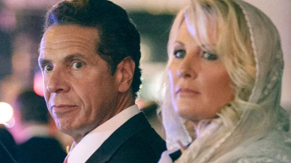New York Gov. Andrew Cuomo and Sandra Lee in September 2015.