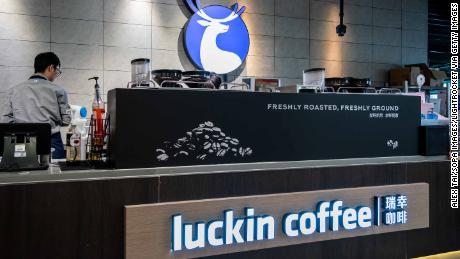 China's Luckin Coffee is getting serious about fruit juice