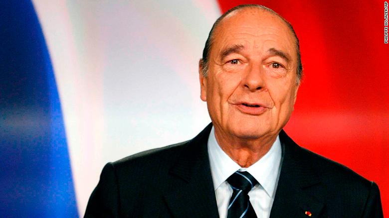 Former French President Jacques Chirac pictured in 2007.
