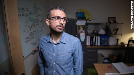 Mehdi Ostadhassan at the University of North Dakota 1