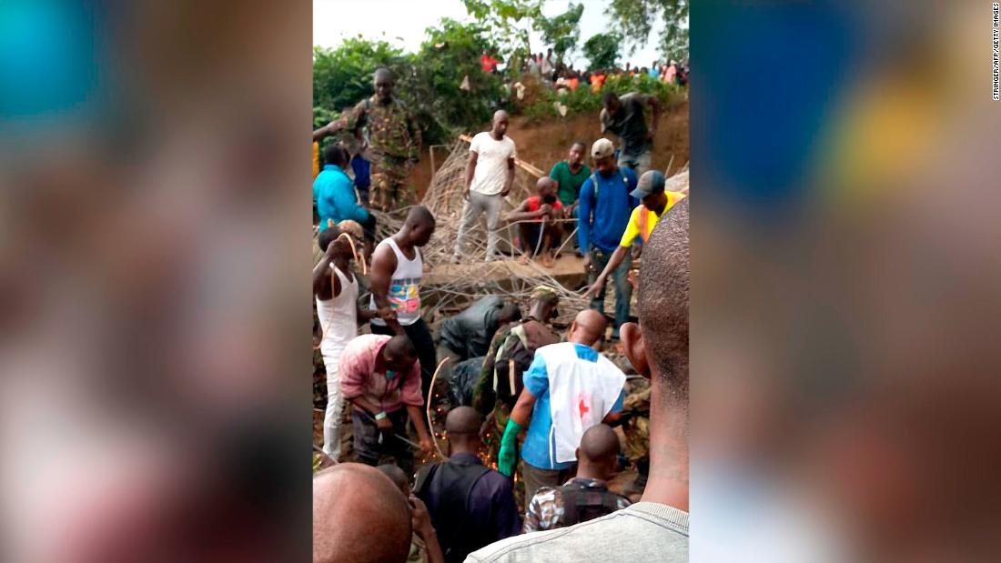 Dozens of construction workers feared trapped in Sierra Leone building collapse