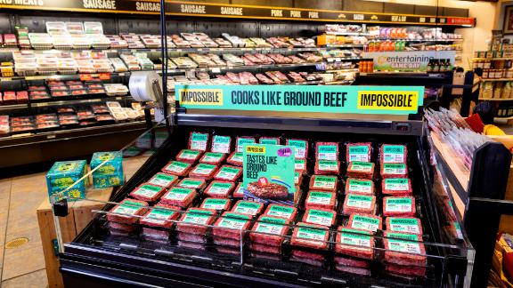 The Impossible Burger, on sale at a Wegmans supermarket.