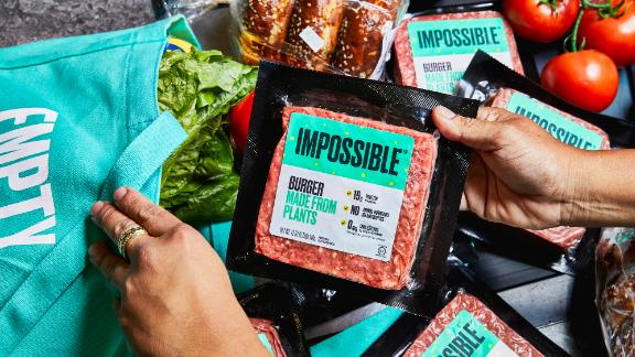 The Impossible Burger arrived in East Coast grocery stores on September 26, 2019.
