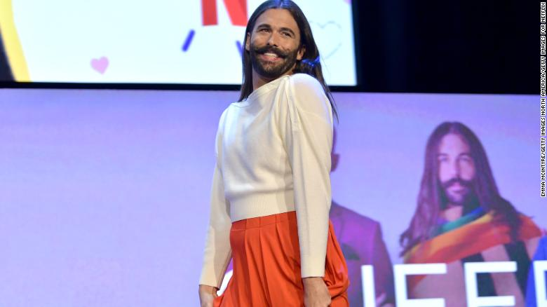 'Queer Eye' star Jonathan Van Ness reveals he got married