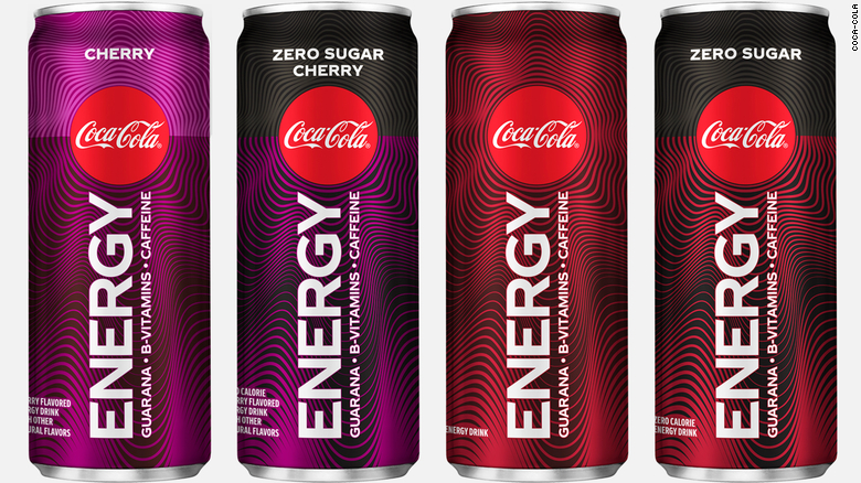 coca cola coke energy drink products