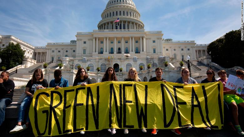 The debate over climate policies like the Green New Deal by political leaders is likely raising public awareness of climate change, researchers say.