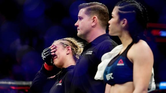 Although she had been hoping to return to the Octogan in the summer, VanZant suffered yet another injury setback, discovering she needed more arm surgery. She has only recently returned to training.