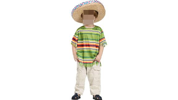 "The ""Little Mexican Amigo Toddler Costume"" is for sale on Amazon."