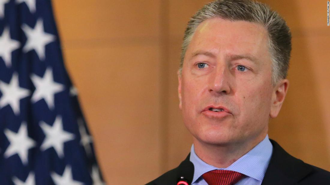 Kurt Volker is the administration's point person on Ukraine.