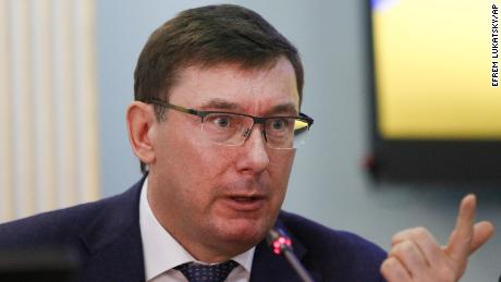 The former top prosecutor in Ukraine, Lustenko had complained about the US ambassador.